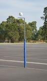 Scopo del netball Fotografia Stock