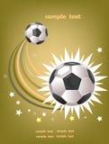 Scopo di calcio Fotografie Stock