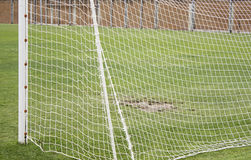 Scopo di calcio Fotografia Stock Libera da Diritti