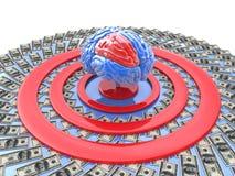 scopo Intellettuale-finanziario Immagine Stock
