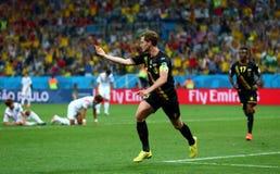 Scopo Jan Vertonghen Coupe du monde 2014 Immagini Stock