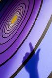 Scopo per il Bullseye Fotografia Stock Libera da Diritti