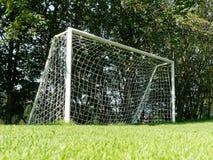 Scopo vuoto di calcio all'aperto Immagine Stock Libera da Diritti