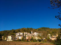 Scopoli mountain village in Umbria Stock Images