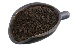 Scopp of keemun oolong tea Stock Images