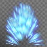 Scoppio astratto blu ENV 10 dell'oggetto di effetto royalty illustrazione gratis