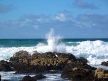 Scoppio dell'oceano Immagine Stock