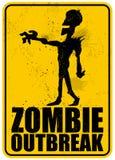 Scoppio dello zombie Immagini Stock Libere da Diritti