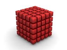 Scoppio di Bing del cubo Fotografia Stock Libera da Diritti