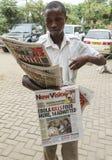 Scoppio di ebola Immagine Stock