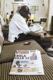 Scoppio di ebola Immagini Stock