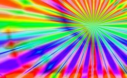 Scoppio psichedelico Fotografia Stock