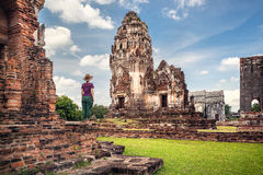 Scopra della Tailandia antica fotografie stock libere da diritti