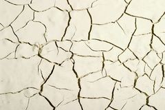 Scorched earth. The scorched desert earth background Royalty Free Stock Photos