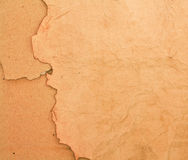 Scorched paper and cardboard backround. Isolated beige scorched paper and cardboard backround Royalty Free Stock Photos