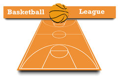 Score of the basketball match Royalty Free Stock Photos