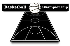 Score of the basketball match Royalty Free Stock Image
