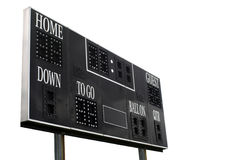 Score Board. On white background Stock Images