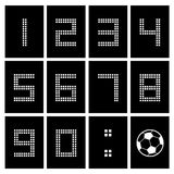 Score board number Stock Image