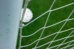 Score a goal Royalty Free Stock Images