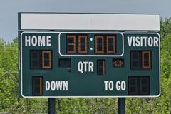 scoreboard Immagini Stock Libere da Diritti