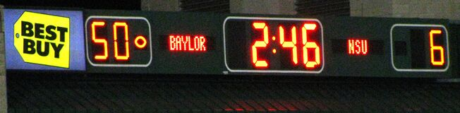 scoreboard Royalty Free Stock Photo
