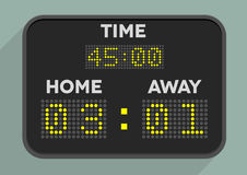 Scoreboard Royalty Free Stock Images
