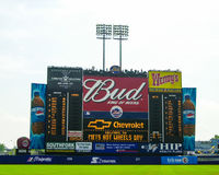 Scoreboard for Shea Stadium. Royalty Free Stock Photo