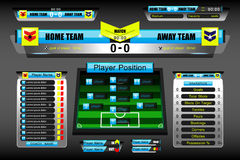Scoreboard sport stock illustration