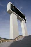 Scoreboard, Sultan Hassanal Bolkiah Stadium, Brune Royalty Free Stock Image