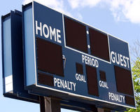 Scoreboard4 Royalty Free Stock Image
