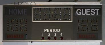 Scorebord Royalty-vrije Stock Foto's