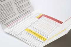 Scorecard Stock Images