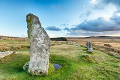 Scorhill Stone Circle Stock Images