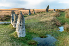 Scorhill Stone Circle Stock Photos