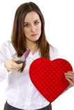 Scorned Ex-Lover Stock Photography