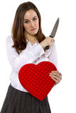Scorned Ex-Lover Stock Photo