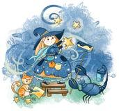 scorpio подписывает zodiacal стоковые изображения rf
