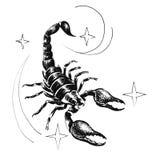 scorpio Fotografia Stock