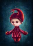 Scorpio astrological sign boy. Illustration with scorpio astrological sign boy Royalty Free Illustration
