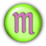 Scorpio Glyphs Stock Image
