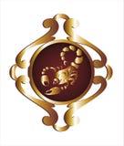 scorpio podpisuje zodiaka Fotografia Royalty Free