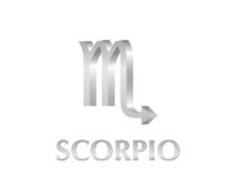Scorpio sign Stock Images