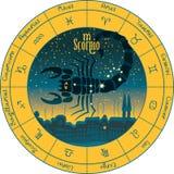 Scorpio signs of the zodiac Stock Photos