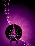 Scorpio zodiac background Stock Photos