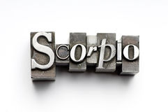 Scorpio Zodiac Sign Royalty Free Stock Images