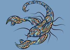 Scorpio zodiac sign Royalty Free Stock Photo