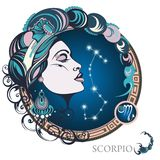 Scorpio. Zodiac sign Stock Photos
