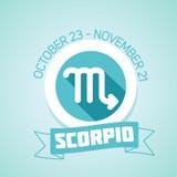 Scorpio zodiac sign Royalty Free Stock Image