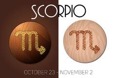 Scorpio zodiac sign Stock Photo